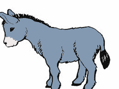 Сказка о маленьком упрямом ослике