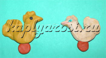 Петушок и курочка