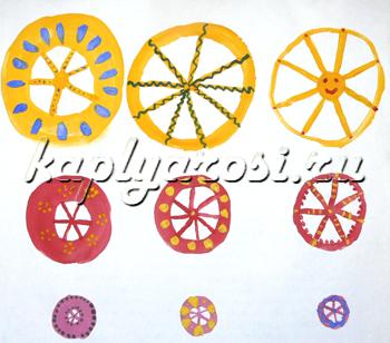 Разные колеса