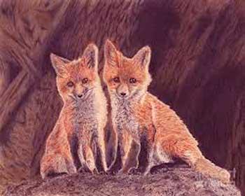 Сказка про лисичек сестричек