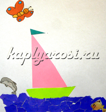 Плыви, плыви, кораблик