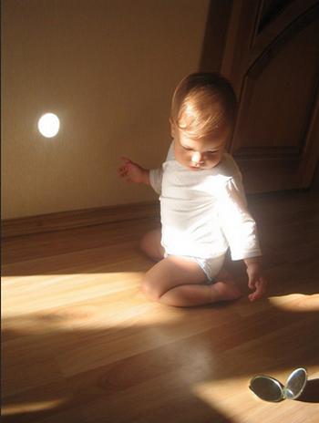 солнечный зайчик фото