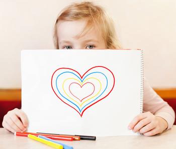 Психологическая игра «Большое сердце»