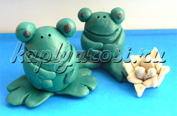 Веселые лягушки