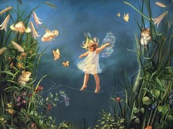 Сказка про фею Искорку