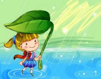 Психологическая игра «Шепчет ветер, шепчет дождик…»