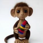 Сказка про обезьянку Алиску