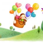 Пальчиковая гимнастика «Как воздушный шарик путешествовал»